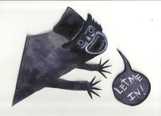 Little White Lies magazine 在「 The Babadook Exclusive Artwork 」 Best Horror Movies, Horror Films, The Babadook, Psychological Horror, Best Horrors, Halloween Horror, Halloween Party, Nightmare On Elm Street, Fantasy Inspiration