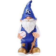 Kansas City Royals Baseball Gnome Figurine