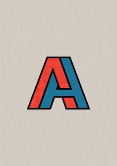 Helvetica Warped by Teodor Georgiev, via Behance