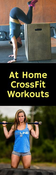 At Home CrossFit Workouts #crossfit
