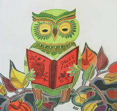 free printable 2013 owl calendar (you can choose the illustration for each month) @Kimberly Carper