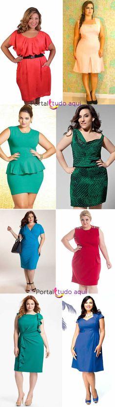plus-size-roupa-de-ano-novo-vestido-colorido.jpg (650×2300)