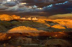 Bisti Badlands in Northwest New Mexico (by Rozanne Hakala)