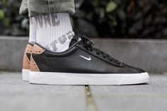 Nike Match Classic available at: http://www.tint-footwear.com/nike-match-classic-suede-001 #Nike #match #prm #black#classic #hype #swoosh #tintfootwearstudio