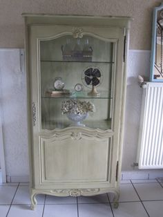 French Cabinet in Versaille, distressed and waxed