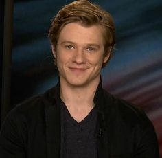 Lucas Till interview photo for sidewalkstvshow He's perfect