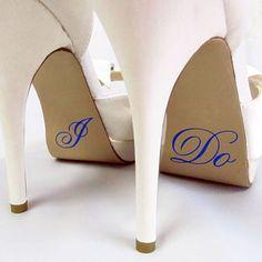 "custom crystals i do-blue glitter Wedding Shoes. ""something borrowed something blue. Glitter Wedding Shoes, Blue Wedding Shoes, Bridal Shoes, Glitter Shoes, Miraculous, Crocs, Fendi, Shoes 2018, Just Engaged"