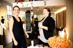 La Boutique l'Art et la Mode OWNER, Carole Harari at in store event