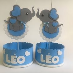 Unisex Baby Shower, Baby Boy Shower, Simpsons Art, Baby Shawer, Toddler Learning Activities, Elephant Baby Showers, Ideas Para Fiestas, Baby Shower Centerpieces, Silhouette Projects