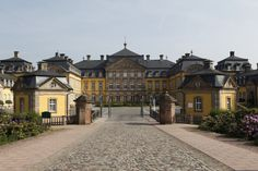 Arolsen Castle is a baroque styled Schloss in Bad Arolsen, Hesse, Germany. It has served as the family home of Waldeck and Pyrmont family. It was the birthplace of Queen consort Emma of the Netherlands. Built during early 18th century, the castle main building was completed in 1728, the furnishings, equipment, furniture, remained for decades until the castle was finally handed over to its use.