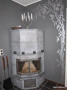tarrakuvio ja takka Home Decor, Decoration Home, Room Decor, Home Interior Design, Home Decoration, Interior Design
