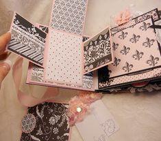ScrapbookFashionista Designs by Rina: Teresa Collins Bebe Chic Baby Girl Mini Album