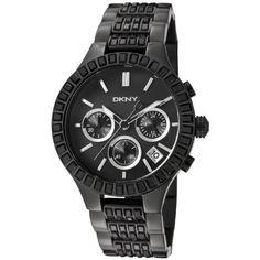 DKNY Chronograph Black Ion-plated Ladies Watch NY8316 DKNY. $167.49