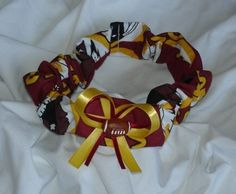 Washington Redskins   Carlykins Boutique Baby Girl Hair Bow by CarlykinsBoutique on Etsy, $5.25