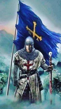 Templar Knight Tattoo, Knights Templar Ring, The Last Legion, Wolf Warriors, Silver Knight, Samurai, Crusader Knight, Christian Warrior, Angel Warrior