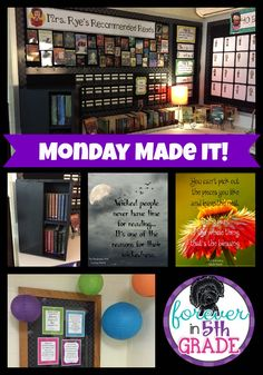 Check out Monday Made It at Forever in Fifth Grade!