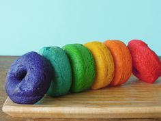 Isn't there something about foods that are either mini or rainbow-fied that…