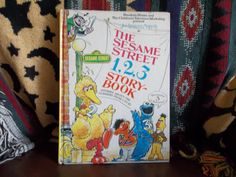 The Sesame Street 123 Story Bookat by TheLazyBeeBookstore on Etsy, $3.99