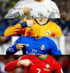 Cristiano Ronaldo Real Madrid and Portugal