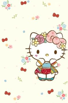 Sanrio Wallpaper, Hello Kitty Wallpaper, Sanrio Characters, Fictional Characters, Hello Kitty Pictures, Sanrio Hello Kitty, Kawaii Drawings, Cassie, Little Girls