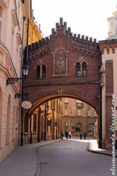 Poland Travel Inspiration - ul. Pijarska, Kraków, Polska | Pijarska street, Krakow old town, Poland