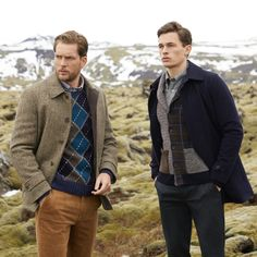Shop Men's Coats, Sweaters & More with The Winter Collection by Brooks Brothers Preppy Winter, Preppy Men, Modern Man, Men's Collection, Brooks Brothers, Sport Coat, Shirt Shop, Timeless Fashion, Trendy Outfits