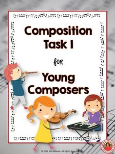 ♫ This is a very easy composition activity for young or beginning music students.  #musiced     #musedchat