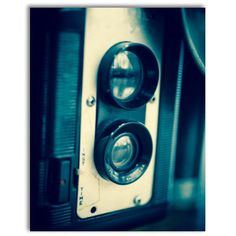Vintage Twin Reflex Film Camera on wood 11x14 by DogfordStudios, $175.00 https://www.etsy.com/listing/178114491/vintage-twin-reflex-film-camera-on-wood?