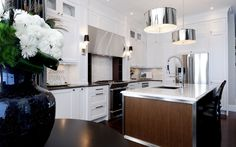 2011 HHL Kitchen - contemporary - kitchen - other metro - Atmosphere Interior Design Inc.