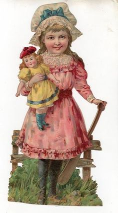 Victorian Diecut Scrap.