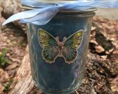 8 oz handmade Soy blend candle. Scent pictured is Beautiful Day #candles #scents #gifts #fragrance #bathandbodyworks
