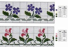 123 Cross Stitch, Cross Stitch Borders, Counted Cross Stitch Patterns, Loom Patterns, Crochet Patterns, Sewing Jeans, Fair Isle Knitting, Tapestry Crochet, Needlework