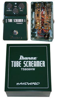 #Ibanez Tube Screamer TS808HW  #HandWired