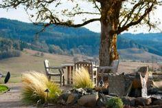 Patio, Sweet Cheeks Winery Oregon