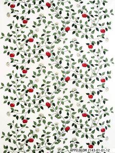 ÄPPELBLOM (red) - Design by Mialotta Arvidsson-Mars