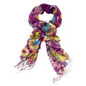 Plum crazy scarf - too cute!