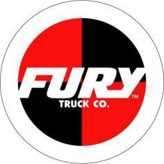Fury Trucks Skateboarding Logo