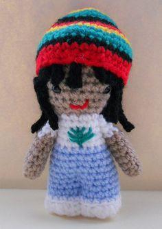 Amigurumi Rasta Man    #amigurumi #crochet