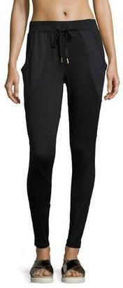 Shop Now - >  https://api.shopstyle.com/action/apiVisitRetailer?id=632873813&pid=uid6996-25233114-59 Alala Drawstring-Waist Jersey Jogger Pants, Black  ...