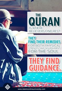 Heal your hearts with the Quran. It is a medicine that doesn't expire, and removes from the heart whatever there is of stress, worry and sadness.