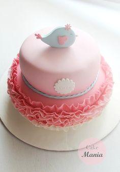 bolo batizado passarinho - Pesquisa Google