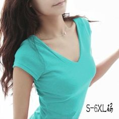 Casual Deep V neck Solid Sleeveless Tops