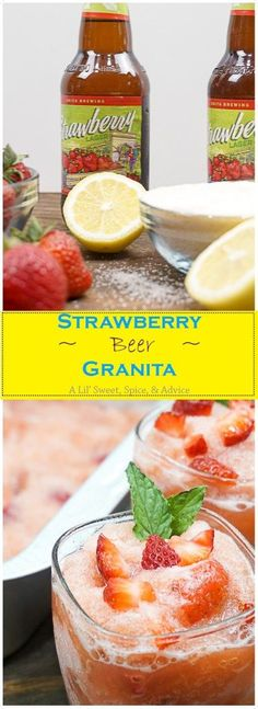 Strawberry Beer Gran