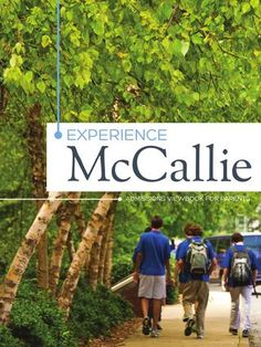 McCallie Viewbook