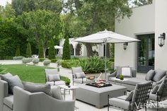 ~Daniel Cuevas - Los Angeles Villa - Modern California Home.  Veranda. Photography: Max Kim-Bee