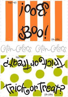 Halloween-Bag-Topper printables