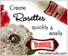 """Great tutorial for making rosettes using """"glots."""""""