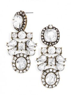 Chandelier Glam Earrings- Perfect for Holiday Parties