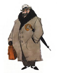 Fenton Quentin Harcourt is a character from Atlantis: The Lost Empire who is the boss of Milo James Thatch at the Smithsonian Institute. He is the parody of hogwarts school of witchcraft and wizardy. Art Disney, Disney Concept Art, Disney Kunst, Atlantis Disney, Fat Anime Characters, Sketch Inspiration, Character Inspiration, Atlantis The Lost Empire, Walt Disney Animation Studios