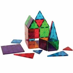 Magna-Tiles Clear Colors 100 pcs set (Christmas for the little boy)